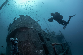 """Divers locate Pollensa """"ghost ship"""""""