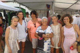 Royal Family visit Pollensa market