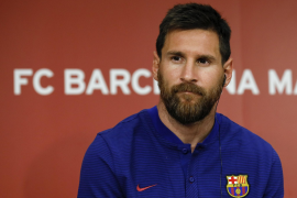 Boys would like Leo Messi to be their boss