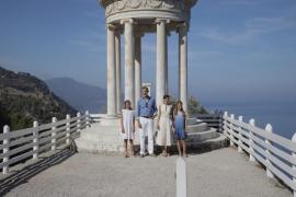 Royal family visit Son Marroig