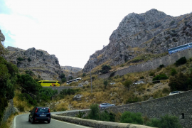 Emergency services worried about Sa Calobra traffic