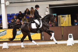 International dressage rider visits Santa Ponsa