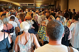 Strike at Palma's passport control