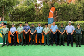 The summer presentation of the Guardia Civil in Majorca