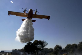 High risk of forest fires today across the Balearics