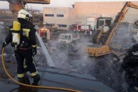Fires in Majorca