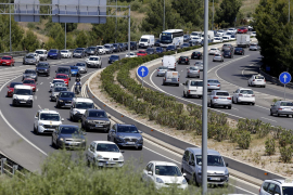 Traffic volume increased three per cent last year
