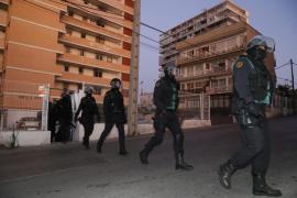 Guardia dawn raids in major drugs operation