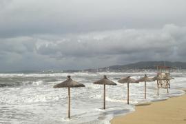 Majorca and Minorca on rain and storm alert from tomorrow