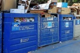 Rubbish collection problems in Raiguer region municipalities