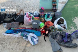 Over 1,400 items seized in illegal selling operation