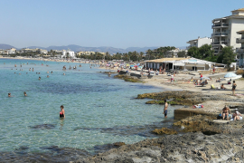 The beaches of Can Pere Antoni and Ciudad Jardin are closed again