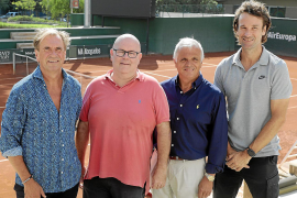 Tennis legends return to Palma