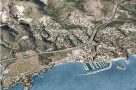 Calvia planning Costa d'en Blanes motorway tunnel