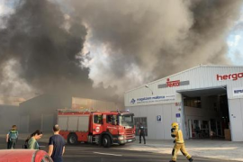 Seven people affected by Marratxi fire