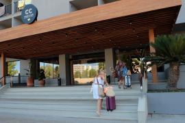 A Thomas Cook hotel in the Playa de Palma