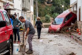 Sant Llorenç was hit by severe floods last October.