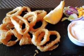 It was a day for eating calamares