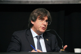 Former Catalan president, Carles Puigdemont