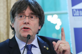 Carles Puigdemont former President of the Government of Catalonia