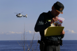 Third day of searching for couple swept out to sea