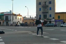 Violence in the streets of Palma