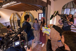 Filming in Mallorca
