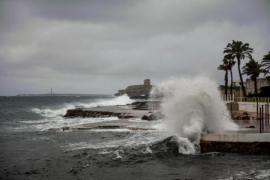 100 kilometre per hour winds in Majorca