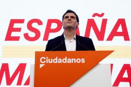 The leader of Spain's Ciudadanos, Albert Rivera