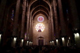 Festival of light at Palma's Cathedral