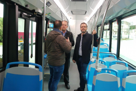 New 18-metre buses in operation in Palma