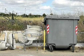 Manacor cracking down on the dumping of junk