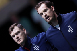 Murray a doubt for Britain's clash with Spain