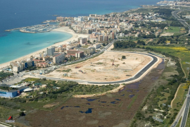 The Ses Fontanelles shopping centre site