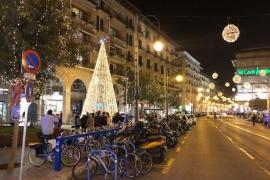 Palma lights up for Christmas