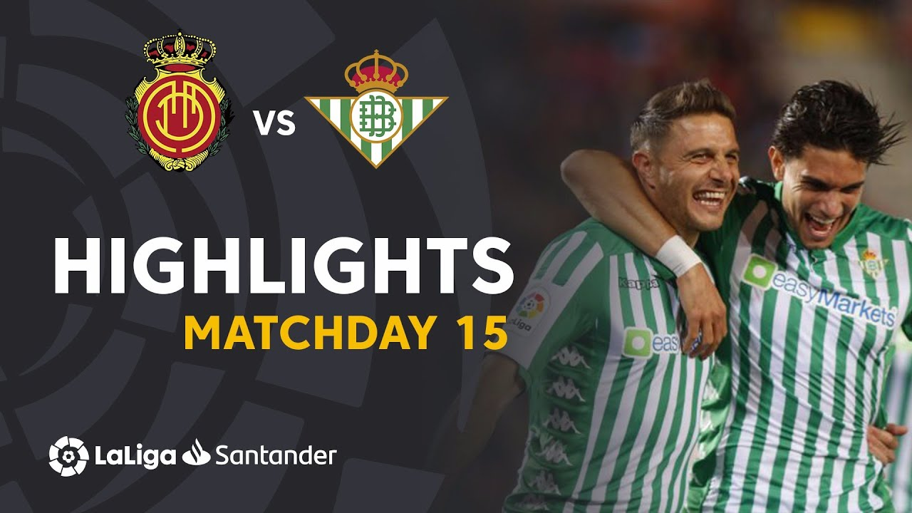 Mallorca bettered at home by Betis