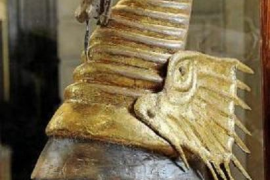 Replica of the headpiece of King Marti