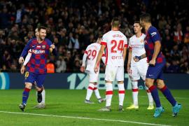 Barcelona hit Mallorca for five