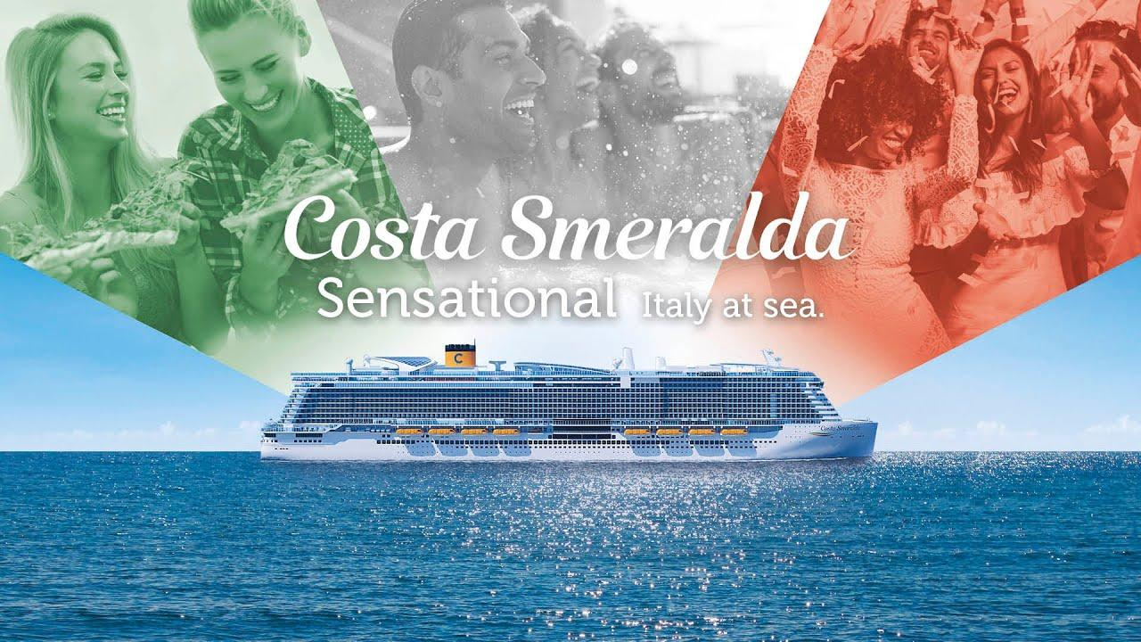 Maiden voyage of eco-friendly Costa Smeralda to dock in Palma