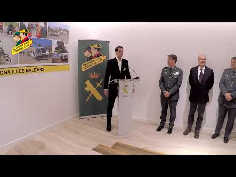 Guardia Civil honour Rafael Nadal
