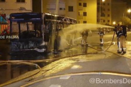 EMT bus blaze in Palma