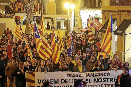 1,500 people call for independence referendum for the Balearics