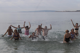First swim of the New Year 2020