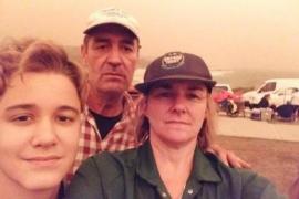Majorcan family evacuated from Australian home