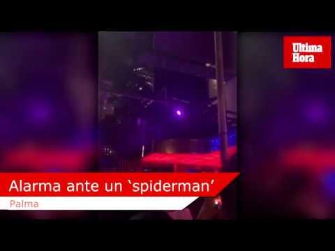 Russian spiderman stuns Palma