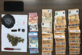 Two people arrested for alleged drug trafficking in Palma