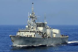 Opposition to Canadian warship presence in Palma