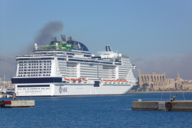 Cruise ships under the spotlight in Palma