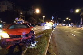 Three people hit by drunk driver in Palma