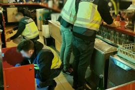 Arrests for drug dealing at Palma bars